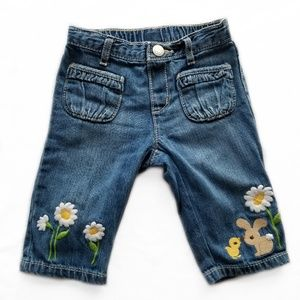Baby girl size 18 month jeans